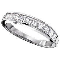Click here for 0.33 ct. t.w. Ladies Princess Diamond Channel Set... prices