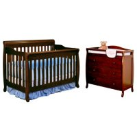 AFG Alice 4-in-1 Crib and Grace 3-Drawer Changer Deals