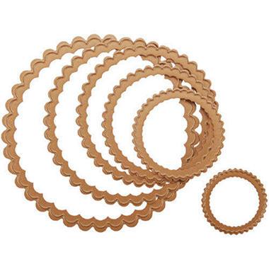 Spellbinders Nestabilities Dies-Scallop Circle