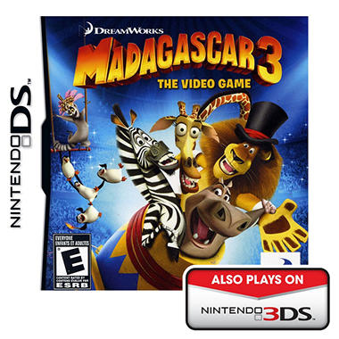 Madagascar 3: The Video Game - NDS