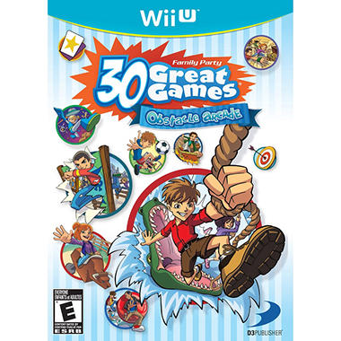 Family Party 30 Great Games: Obstacle Arcade - Wii U