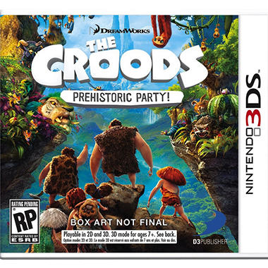 Croods Prehistoric Party - 3DS