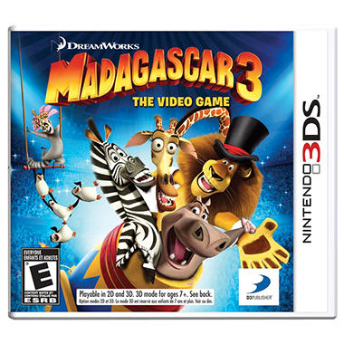 Madagascar 3: The Video Game - 3DS