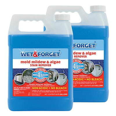 Wet & Forget Mold, Mildew, & Algae Stain Remover