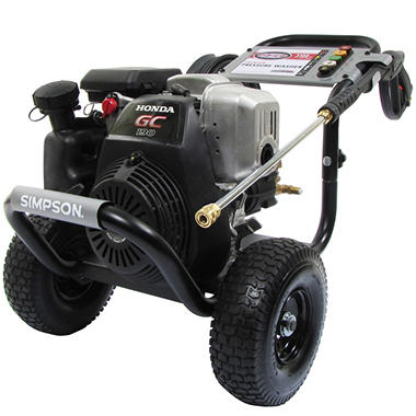 Simpson MegaShot 3,100 PSI - Gas Pressure Washer - Powered by Honda