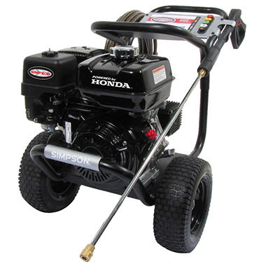 SIMPSON PowerShot 4,000 PSI  Commercial Gas Pressure Washer - Powered by Honda