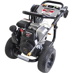 SIMPSON MegaShot 3200 PSI Gas Pressure Washer Powered by Honda