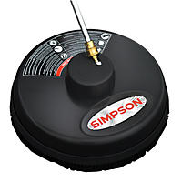 "SIMPSON Universal 15"" Surface Scrubber for CW Pressure Washers, Rated Up to 3400 PSI"