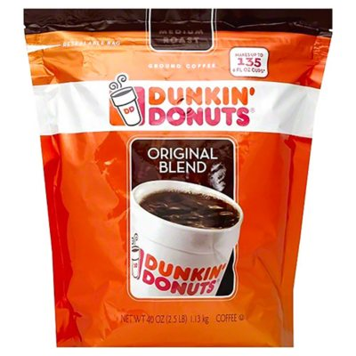 Dunkin' Donuts Ground Coffee (40 oz.) - Sam's Club