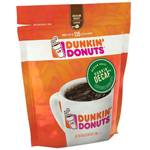 Dunkin' Donuts Decaffeinated Coffee, Ground (40 oz.)