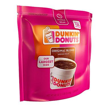 Dunkin' Donuts® Whole Bean Coffee - 40oz