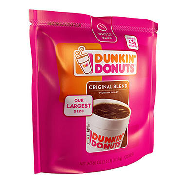 Dunkin' Donuts® Whole Bean Coffee - 40oz