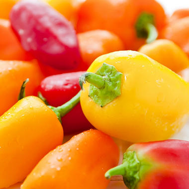 ORGANIC MINI PEPPERS 1.5 LB