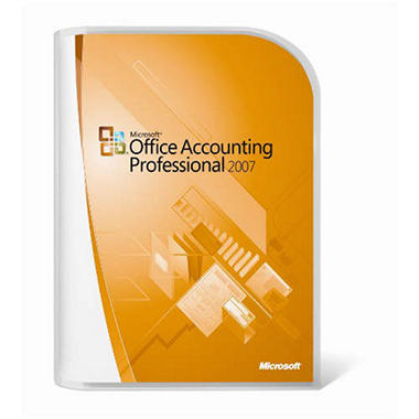 Microsoft Office Accounting Pro 2007 Upgrade