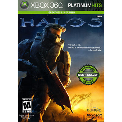 Halo 3 Platinum Hits- Xbox 360