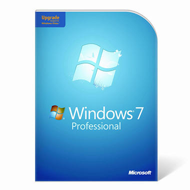 Windows 7 Professional Upgrade   1 User