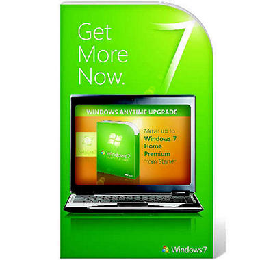 Windows 7 Anytime Upgrade - Starter to Premium