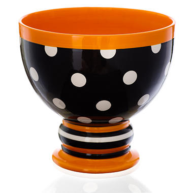Halloween Candy Bowl - Polka Dot