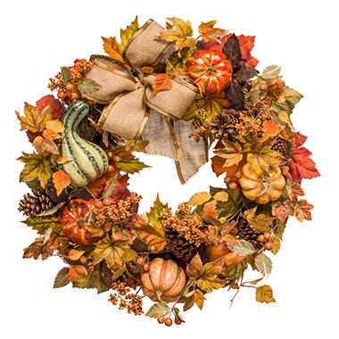 26 HARVEST WREATH