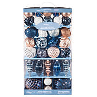 Member's Mark Shatterproof Ornament Collection, Holiday Shimmer (77 ct.)