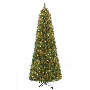 7' Prelit Pull-up Christmas Tree