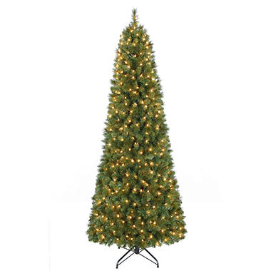 7' Prelit Pull-up Christmas Tree