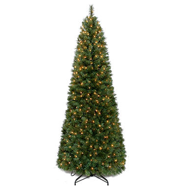 7' Pull-Up Prelit Christmas Tree