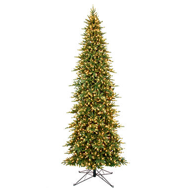 15' Slim Prelit Christmas Tree