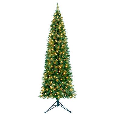 7' Corner Prelit Christmas Tree