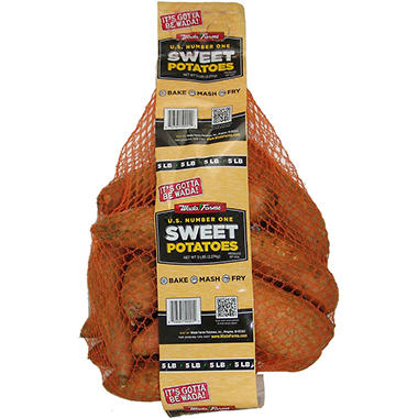 Sweet Potatoes - 5 lb. Bag