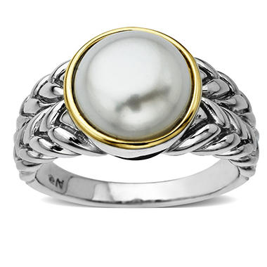 10mm Freshwater Pearl Ring