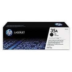 HP 35A Original Laser Jet Toner Cartridge, Black, Select Type (1,500 Page Yield)