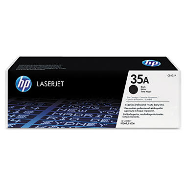 HP 35A Toner Cartridge - Black, 1500 Page Yield