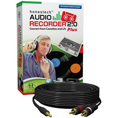 Audio Recorder 2.0 Plus w/ Audio Cable