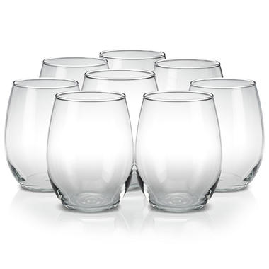 Luminarc� 8 pc. Stemless Wine Glasses