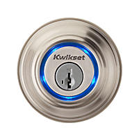 Kwikset Kevo Bluetooth Enabled Deadbolt - Satin Nickel