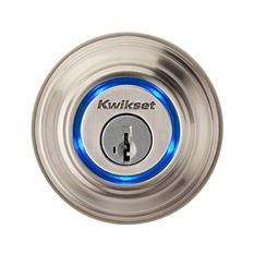 Kwikset Kevo Bluetooth Enabled Deadbolt - Satin Nickel, Polished Brass or Venentian Bronze