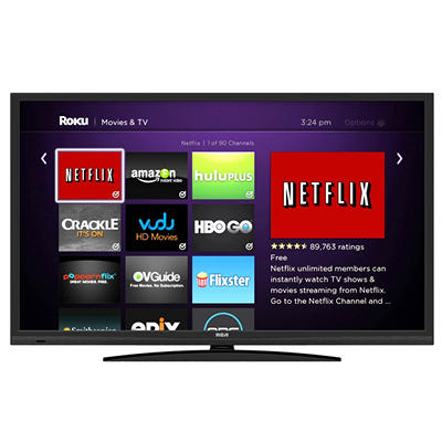 """32"""" RCA LED HDTV With Built-In ROKU Streaming Stick"""