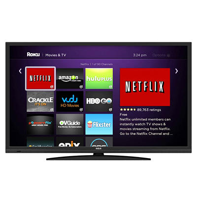 "40"" RCA LED HDTV With Built-In ROKU Streaming Stick"