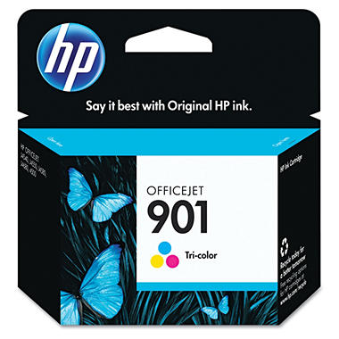 Hewlett Packard 901 Tri-Color Ink Cartridge