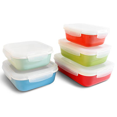 Neoflam 10-Piece CLOC Porcelain Food Storage Set
