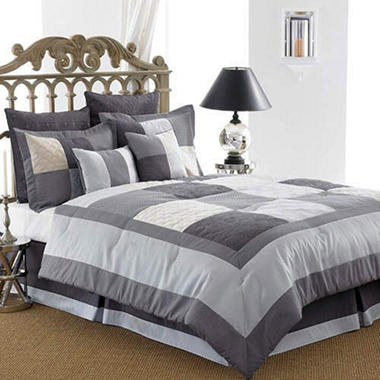 Berkley Comforter Set - 8 pc. - Queen