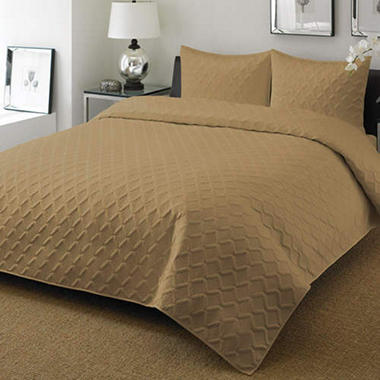 Chestnut Coverlet Set - Queen - 3 pcs.