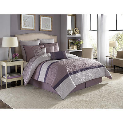 Nicole Miller Comforter Set, King (9 pc. set)