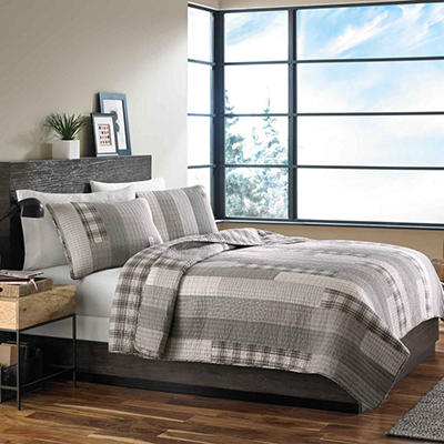 Eddie Bauer 3 Piece Quilt Set (Various Patterns)