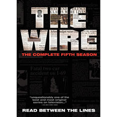 The Wire: The Complete Fifth Season (DVD)