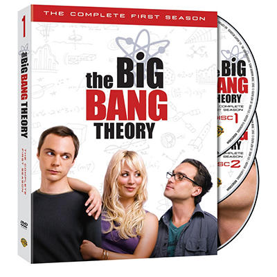 The Big Bang Theory: The Complete First Season (DVD) (Widescreen)