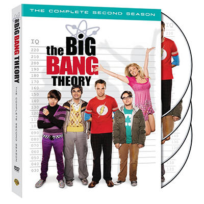 The Big Bang Theory: The Complete Second Season (DVD) (Widescreen)