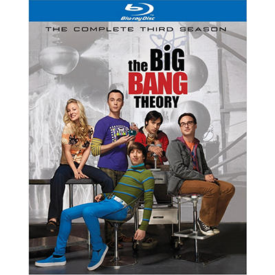 The Big Bang Theory: The Complete Third Season (Blu-Ray) (Widescreen)