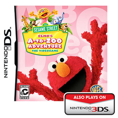 Sesame Street: Elmo's A-To-Zoo Adventure The Videogame - DS